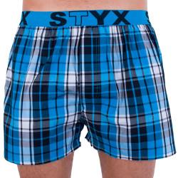 Pánské trenky Styx sportovní guma vícebarevné (B701)