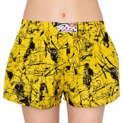 Dámské trenky Styx art klasická guma Jáchym žluté (K751)