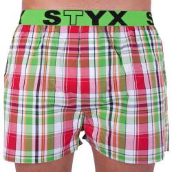 Pánské trenky Styx sportovní guma vícebarevné (B626)