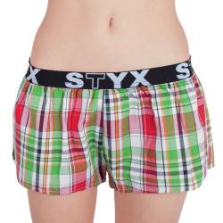 Dámské trenky Styx sportovní guma vícebarevné (T626)