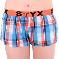 Dámské trenky Styx sportovní guma vícebarevné (T631)