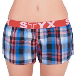Dámské trenky Styx sportovní guma vícebarevné (T611)