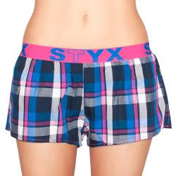 Dámské trenky Styx sportovní guma vícebarevné (T625)