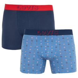 2PACK pánské boxerky Levis vícebarevné (905032001 003)