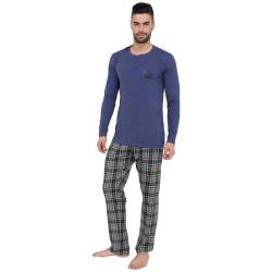 Pánské pyžamo Gino fialové (79071)