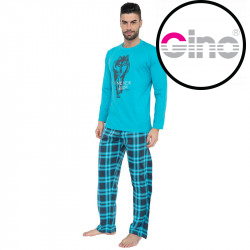 Pánské pyžamo Gino modré (79055)