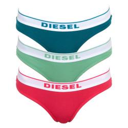 3PACK Dámská tanga Diesel vícebarevné (00SE0K-0EAUF-E5067)