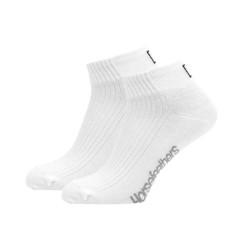 3PACK ponožky Horsefeathers run bílé (AA1080B)