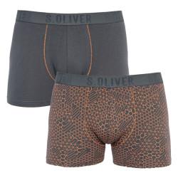 2PACK pánské boxerky S.Oliver vícebarevné (26.899.97.5627.17D2)