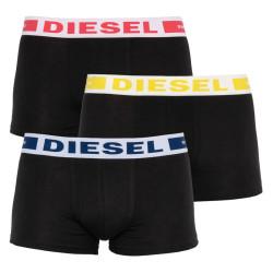 3PACK pánské boxerky Diesel černé (00CKY3-0BAOF-E5026)