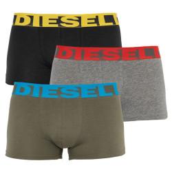 3PACK pánské boxerky Diesel vícebarevné (00SAB2-0PAWE-E5060)