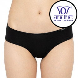 Dámské kalhotky Andrie černé (PS 2630 A)