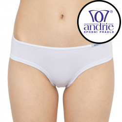Dámské kalhotky Andrie bílé (PS 2630 D)