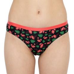 Dámské veselé kalhotky Dedoles vícebarevné Flamingo (Good Mood)