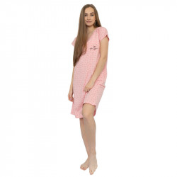 Dámská noční košile Gina růžová (19099)