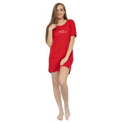 Dámská noční košile Gina červená (19082)