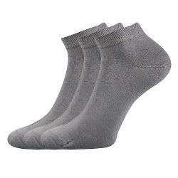 3PACK ponožky Lonka šedé (Desi)