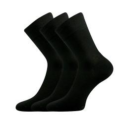 3PACK ponožky Lonka černé (Dypak Modal)