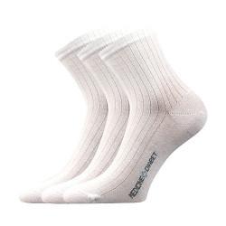 3PACK ponožky Lonka bílé (Demedik)