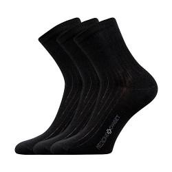 3PACK ponožky Lonka černé (Demedik)