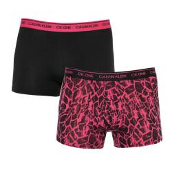 2PACK pánské boxerky CK ONE vícebarevné (NB2385A-CHS)
