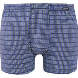Pánské boxerky Andrie modré nadrozměr (PS 5261 C)