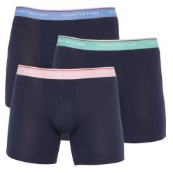 3PACK pánské boxerky Tommy Hilfiger tmavě modré (UM0UM01643 0XP)