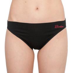 Dámské bambusové kalhotky Gina černé (00045)