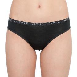 Dámské kalhotky Mons Royale merino černé (100044-1016-001)