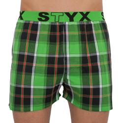 Pánské trenky Styx sportovní guma vícebarevné (B818)