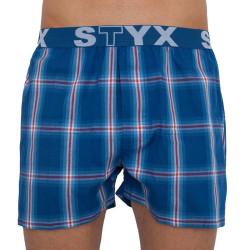 Pánské trenky Styx sportovní guma vícebarevné (B812)