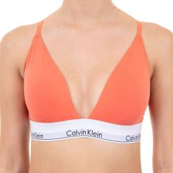 Dámská podprsenka Calvin Klein oranžová (QF5650E-GPT)