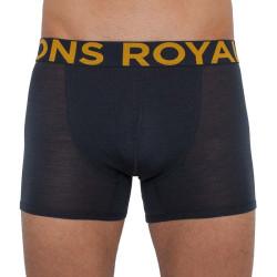 Pánské boxerky Mons Royale tmavě šedé (100087-1075-012)