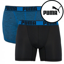 2PACK pánské boxerky Puma sportovní vícebarevné (671018001 010)