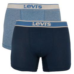 2PACK pánské boxerky Levis modré (905010001 003)