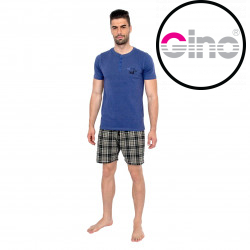 Pánské pyžamo Gino modré (79074)