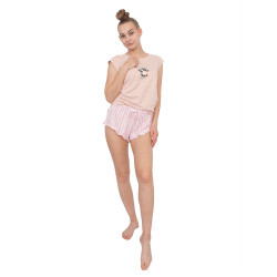 Dámské pyžamo Gina růžové (19076)