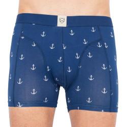 Pánské boxerky A-dam modré (WILLEM)
