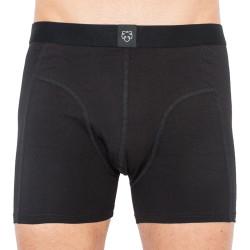 Pánské boxerky A-dam černé (1P JELLE)