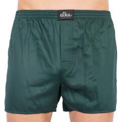 Pánské trenky ELKA tmavě zelené (P0057)