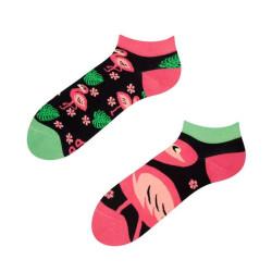 Veselé ponožky Dedoles Plameňáci krátké GMLS009 (Good Mood)