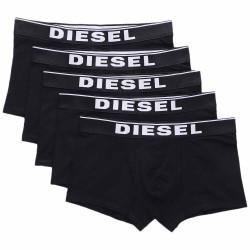 5PACK pánské boxerky Diesel černé (00SUAG-0JKKB-E4356)