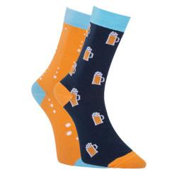 Veselé ponožky Dots Socks pivo (DTS-SX-499-X)