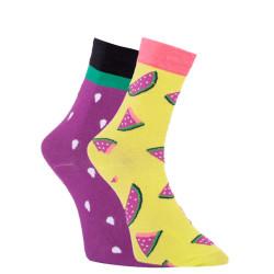 Veselé ponožky Dots Socks meloun (DTS-SX-462-R)