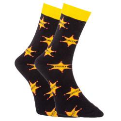 Veselé ponožky Dots Socks šerif (DTS-SX-438-C)