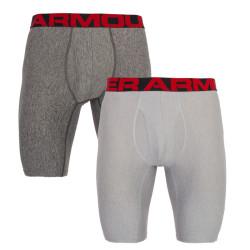 2PACK pánské boxerky Under Armour šedé (1327420 011)