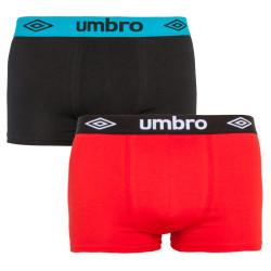2PACK pánské boxerky Umbro vícebarevné (UMUM0245 B)