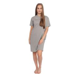 Dámská noční košile Tommy Hilfiger šedá (UW0UW01639 004)