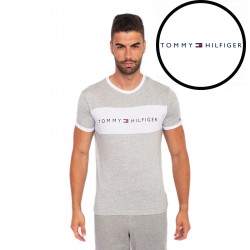 Pánské tričko Tommy Hilfiger šedé (UM0UM01170 004)