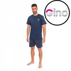 Pánské pyžamo Gino modré (79080)